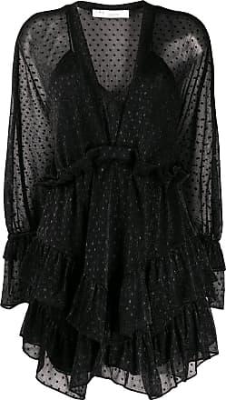 Iro Milson dotted mini dress - Black