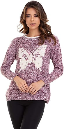 Kinara Suéter Tricot Pelinhos Butterfly-P
