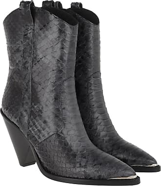 Toral Shoes Boots & Booties - Coned Heel Ankle Boots Black - grey - Boots & Booties for ladies