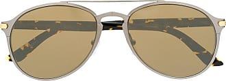 Cartier aviator frame sunglasses - Prateado