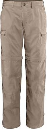 Vaude Farley Zip-Off Pants IV Trekkinghose für Herren | grau/beige