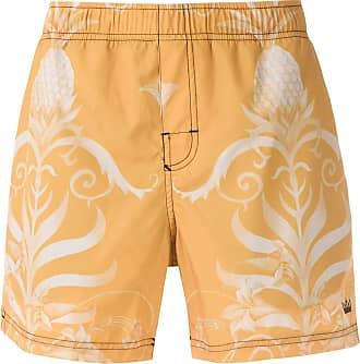 Osklen Arabesco print shorts - Yellow