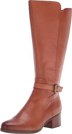 Naturalizer Womens Demetria Knee High Boot, Light Maple Wide Calf, 3.5 UK