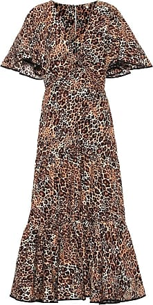 Johanna Ortiz Animal Jewel cotton and silk dress