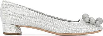 Casadei Sapato de couro - Metálico