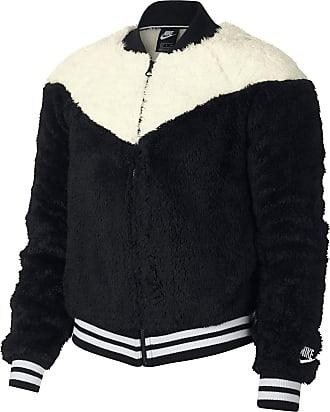 Nike Bomberjacke Damen in black-sail-white, Größe  XL c40ceea12f