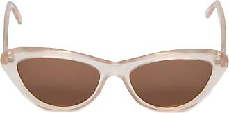 HELENA BORDON óculos Tribeca Transparente Helena Bordon - Bege