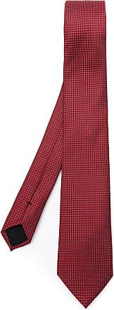 BOSS Gravata de seda - Vermelho