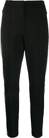 Escada Sport houndstooth stripe trousers - Preto
