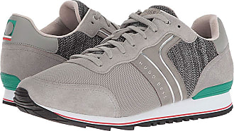 cd4797b3eb8 HUGO BOSS Parkour Running Knit By Boss Green (Medium Grey) Mens Shoes