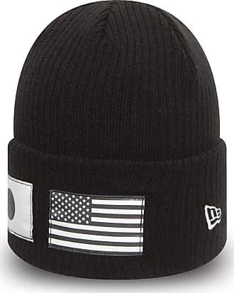 New Era Flag Watch Beanie Hat - One Size Black