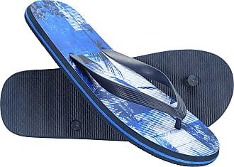 Mountain Warehouse Beach Walk Mens Flip Flops - Classic Design Footwear, Lightweight Sandals, Cosy Outsole, Slipon Summer Shoes -for Travelling, Walking, Beach, Poolside