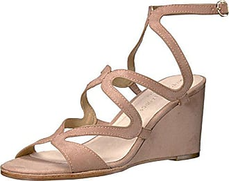Chinese Laundry Womens Radical Wedge Sandal, Dark Nude Suede, 11 M US