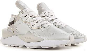 Yohji Yamamoto Sneakers for Women On Sale, Silver, Leather, 2019, 2.5 3 3.5 4