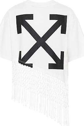 Off-white Bedrucktes T-Shirt aus Baumwolle
