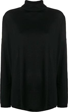 Snobby Sheep Suéter de tricô modelagem solta - Preto