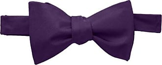 Tommy Hilfiger Mens Core Solid Bow Tie, Purple, One Size
