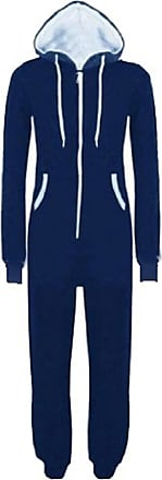 Xclusive New Womens Mens Adult Unisex Hooded Onesie Jumpsuit All in ONE Piece Full Play Suit M-5XL