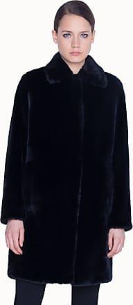Akris Faux Fur Coat