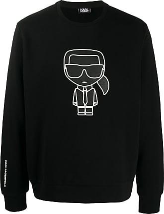 Karl Lagerfeld karl motif sweatshirt - Preto