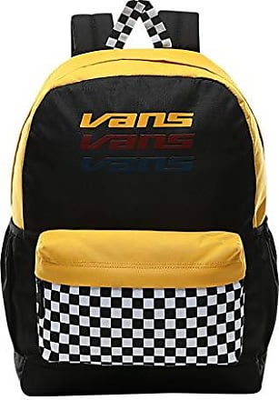VANS Womens Realm Backpack Mojito Mango Yellow Black