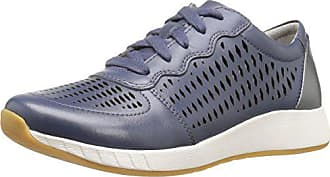 Dansko Womens Charlie Fashion Sneaker, Blue Leather, 36 EU/5.5-6 M US