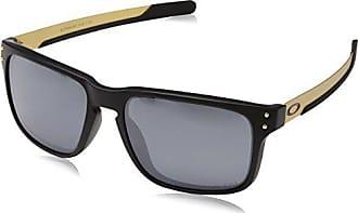d8c5d1f306e Oakley Mens Holbrook Polarized Iridium Rectangular Sunglasses Matte Black  57.0 mm