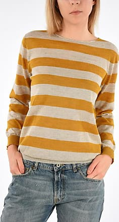 Roberto Collina Striped Linen Blend Sweater size S