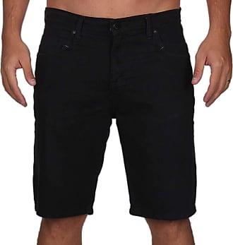 Wave Giant Bermuda Jeans Casual - Preta - 42