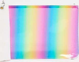 Monki Borsellino a righe multicolori-Multicolore