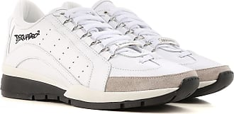 4a35cb1283d Dsquared2 Sneakers for Men, White, Leather, 2017, 39 39.5 40 41 41.5