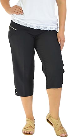 Nouvelle Collection Cropped Zip Pocket Trousers Black 22