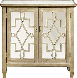 Meridian Furniture Inc Pulaski DS-P017067 Gold Accent Cabinet