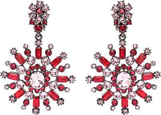 Oscar De La Renta Crystal-embellished earrings