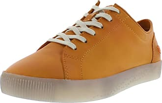 Softinos SADY Womens Lace Up Low Shoes, Womens Casual Lace, Loose Insert Orange Size: 8.5 UK