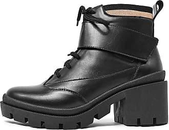 Damannu Shoes Bota Katy Napa Preto - Cor: Preto - Tamanho: 36