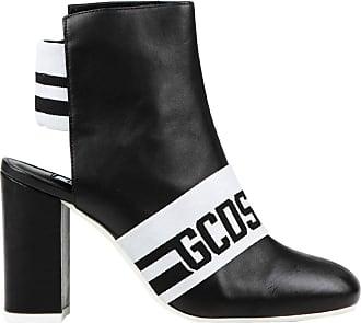 GCDS Stivaletti Con Bande Donna Mod. CC94W010222 Black Size: 4 UK