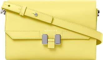 Maison Héroïne Handtasche Damen, Lilia Tablet Mini, Lemon Glaze
