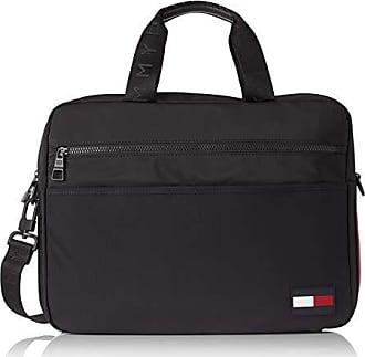 afd483cf9f Tommy Hilfiger Sport Mix Computer Bag, Sacs pour ordinateur portable homme,  Noir (Black