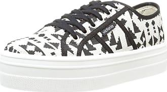 1c955a0b8467 Victoria Unisex Adults Basket Etnico Plataforma Low-Top Sneakers Black Size   3
