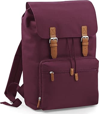 BagBase Bagbase Heritage Laptop Backpack Bag (Up To 17inch Laptop) (One Size) (Burgundy)