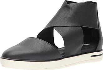 Eileen Fisher Womens Carver Sneaker, Black, 6 M US