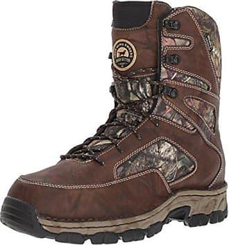Irish Setter Mens Havoc XT-837 Hunting Shoes, Mossy Oak Camoflage, 10 D US