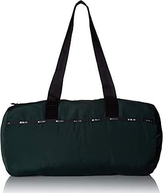 LeSportsac Travel Simple Duffel, deep forest t