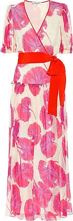Diane Von Fürstenberg Breeze printed silk chiffon maxi dress