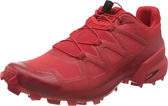 Salomon Mens Speedcross Competition Running Shoes, Red (High Risk Red/Barbados Cherry/Beard), 11.5 UK