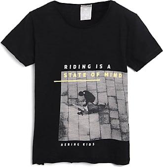Hering Kids Camiseta Hering Kids Infantil Skate Preta