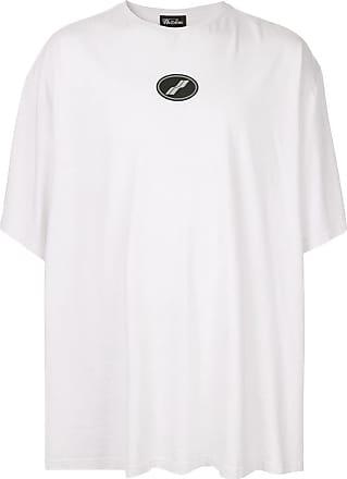 We11done Oversized-T-Shirt - Weiß