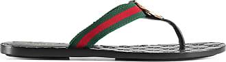 Gucci GG thong Web sandal