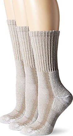 Large Grey//Black Thorlos Hiking Crew Socks
